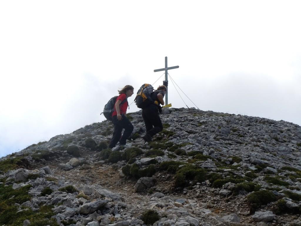 vor Gipfel