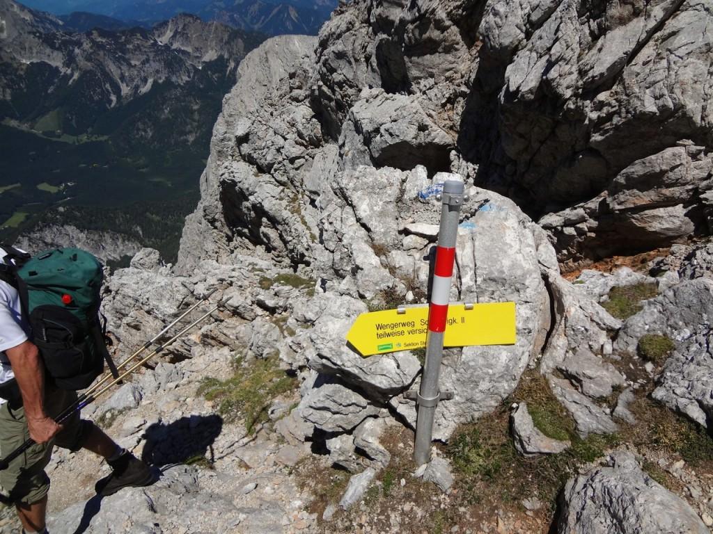 Klettersteig Buchstein : Großer buchstein monsieur peter
