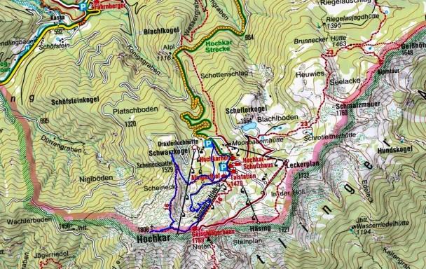 Klettersteig Ybbstaler Alpen : Hochkar klettersteig monsieur peter